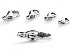 10 Pieces Stainless Steel Labster Clasps
